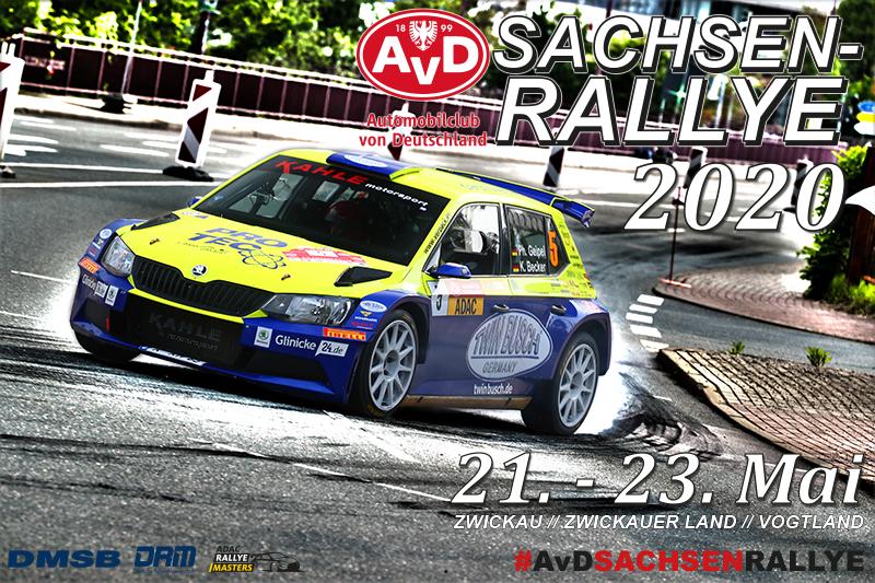 AvD-Sachsen-Rallye 2020 // 21. bis 23. Mai // Ausweichtermin vorhanden