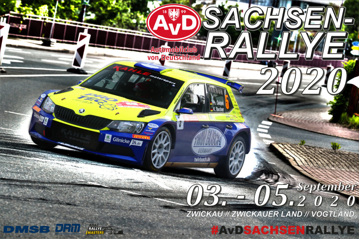 AvD-Sachsen-Rallye 2020 // 03. bis 05. September
